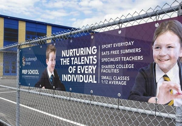 12ft by 3ft Exterior Banner