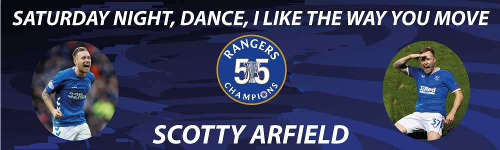 rangers football club banner 55