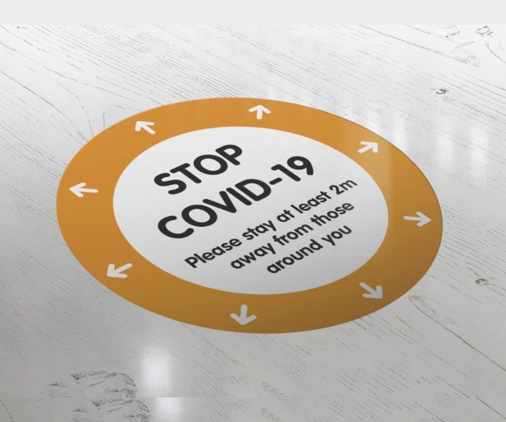Covid-Floor-Stickers