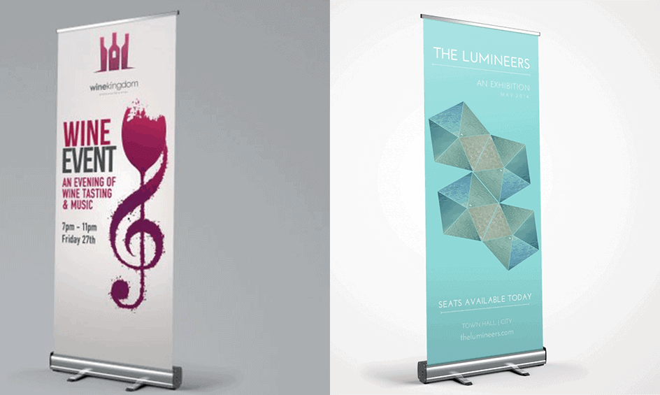roller pop up banners in different sizes and quality All Pop Up Banners