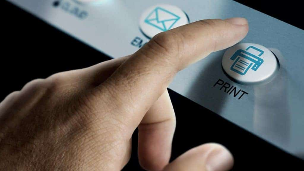 types of printing